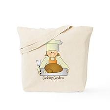 Cooking Goddess Tote Bag
