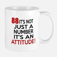 88 It Is Just A Number Birthday Designs Mug