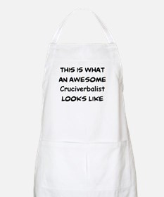awesome cruciverbalist Apron