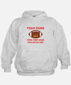 Football Personalized Hoodie