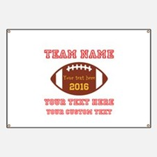 Football Personalized Banner