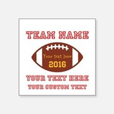 Football Personalized Sticker
