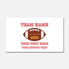 Football Personalized Car Magnet 20 x 12