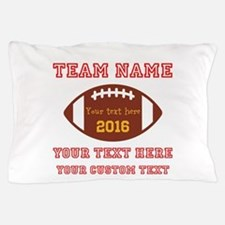 Football Personalized Pillow Case