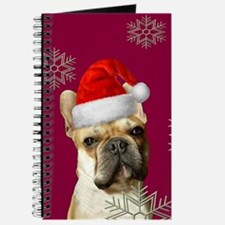 Christmas French Bulldog Journal