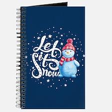 Let It Snowman Journal
