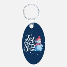 Let It Snowman Keychains