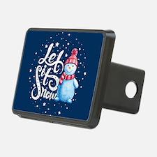 Let It Snowman Hitch Cover