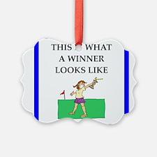 golf joke Ornament