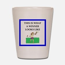 golf joke Shot Glass