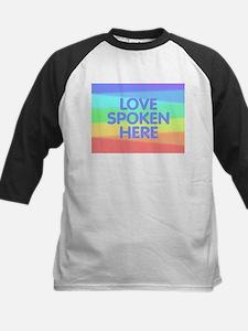Love Spoken Here Baseball Jersey