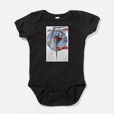 Unique Ironworkers Baby Bodysuit
