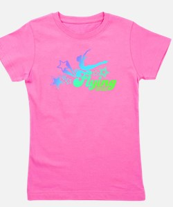 Funny Girls gymnastics Girl's Tee