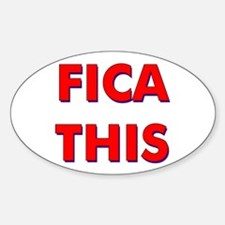 FICA THIS Oval Decal