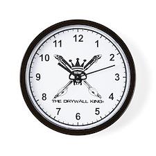 Skull & Bazookas Wall Clock