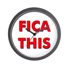 FICA THIS Wall Clock