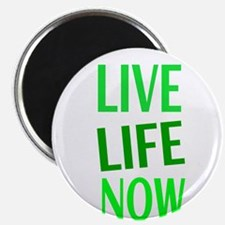 LIVE LIFE NOW Magnets