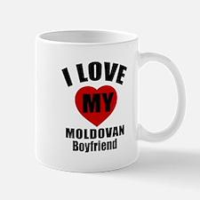 I Love My Moldova Boyfriend Mug