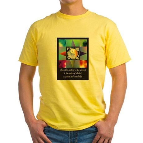 Yin Yang Yellow T-Shirt
