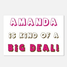 Amanda Is Kind of a Big Deal Postcards (Package of
