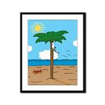 Bassoon Beach - Framed Panel Print