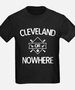 Cleveland or Nowhere Game T-Shirt
