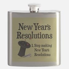 New Years Resolutions Flask