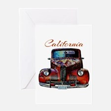 California Route 66 Truck Greeting Cards