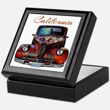 California Route 66 Truck Keepsake Box