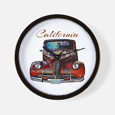 California Route 66 Truck Wall Clock