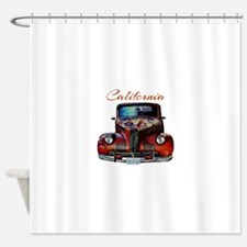 California Route 66 Truck Shower Curtain