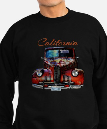California Route 66 Truck Sweatshirt