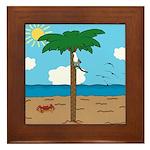Bassoon Beach - Framed Tile