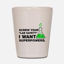 Chemistry Superpowers Shot Glass
