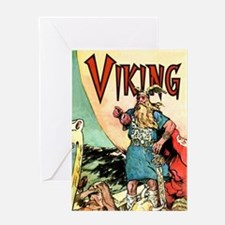 Vintage Viking Greeting Cards