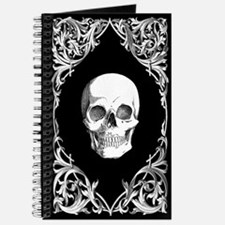 Black Elegant Skull Journal
