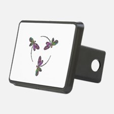 Neon Dragonfly Trinity Hitch Cover