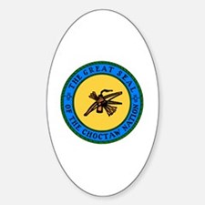 Cute Choctaw Sticker (Oval)