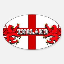 England Lion Flag Decal