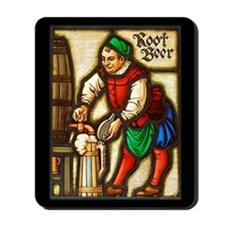 Root Beer Man Mousepad