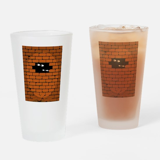 Funny Spotlight Drinking Glass