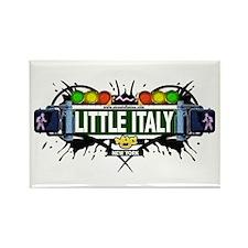 Little Italy (White) Rectangle Magnet (10 pack)