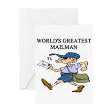 mailman gifts t-shirts Greeting Card