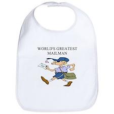 mailman gifts t-shirts Bib