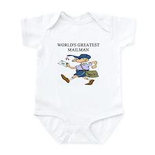 mailman gifts t-shirts Infant Bodysuit