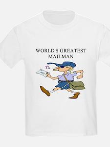 mailman gifts t-shirts T-Shirt