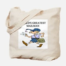 mailman gifts t-shirts Tote Bag