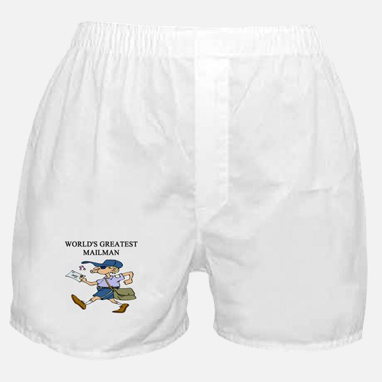 mailman gifts t-shirts Boxer Shorts