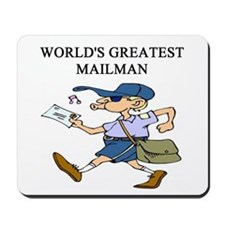 mailman gifts t-shirts Mousepad