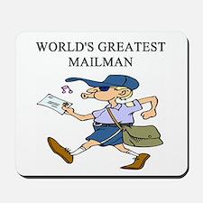 mailman gifts t-shirts Mousepad